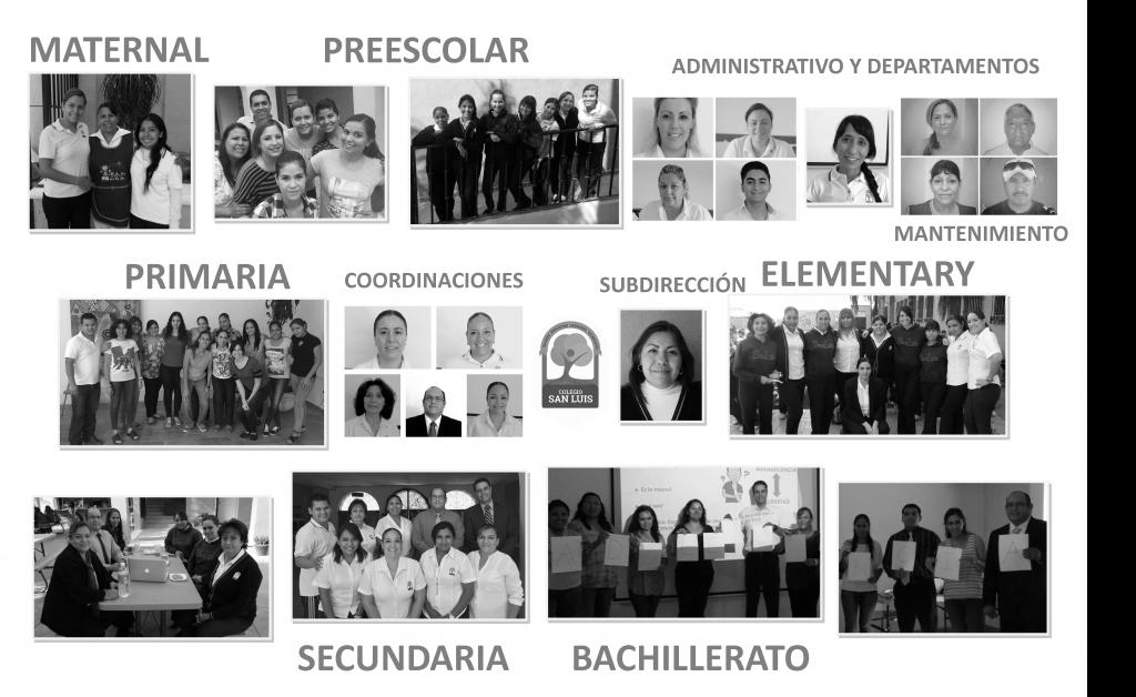 collage todos los profes